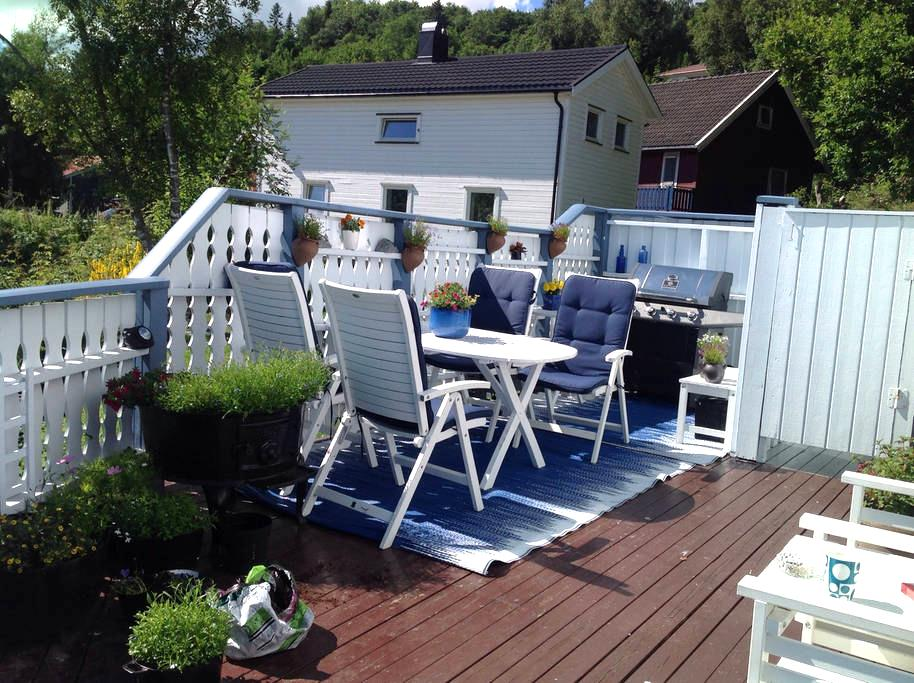 Apartment with cosy terrace - Trondheim - Pis