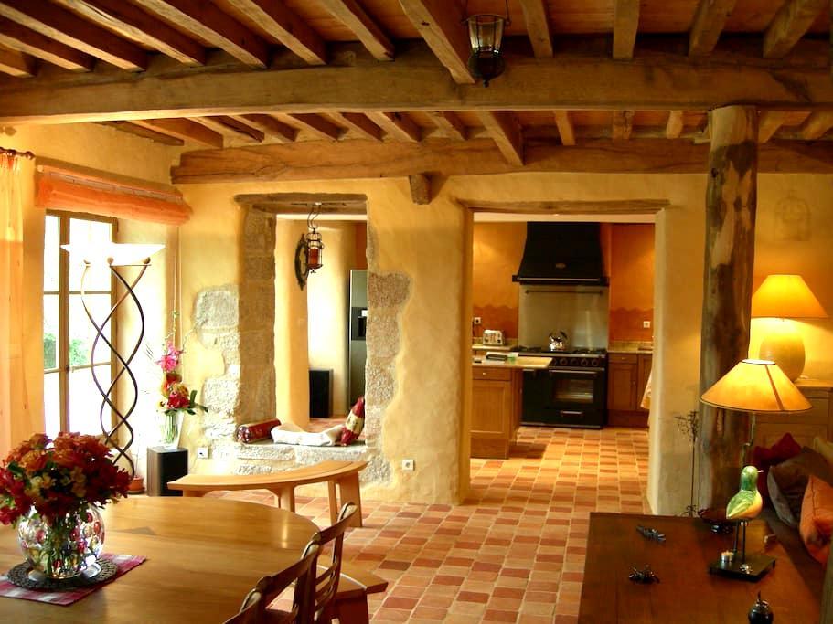 B&B Domaine de Montvianeix - 4 épis + Charme - Saint-Rémy-sur-Durolle