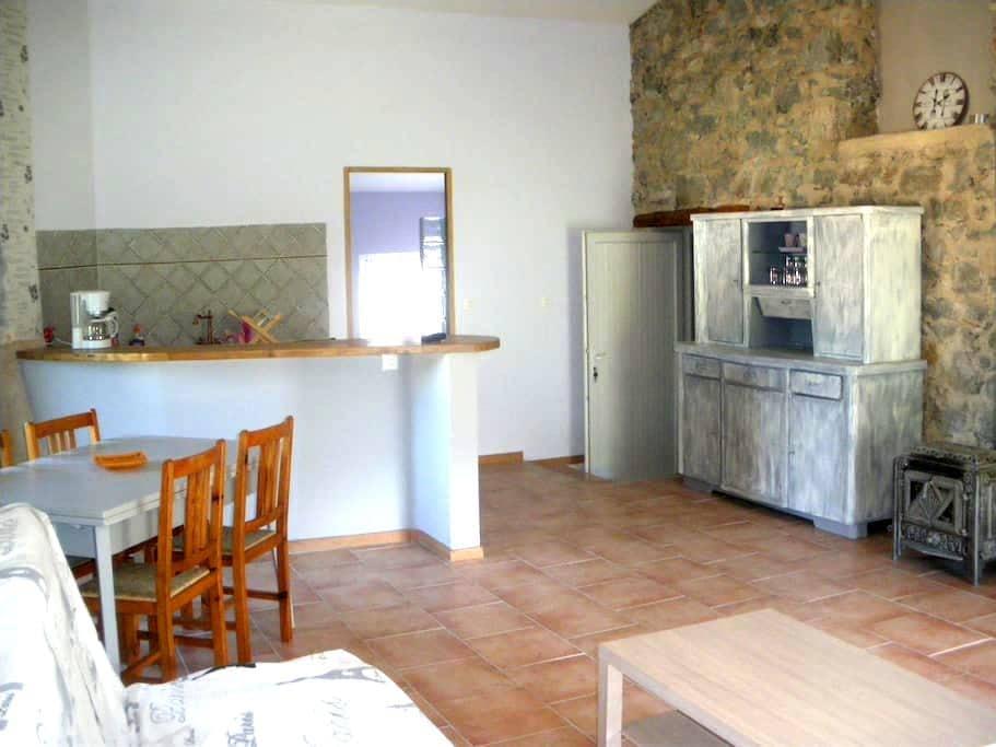 Bel appartement au coeur du village - Vergons