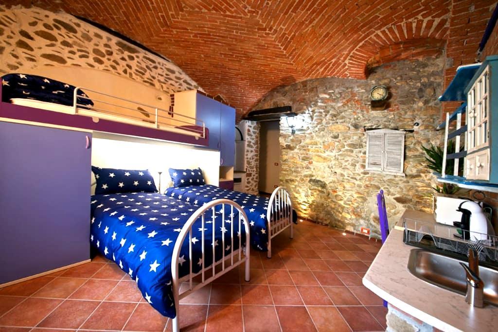 Camera romantica piano terra, free wifi. B&B - Garessio - Bed & Breakfast