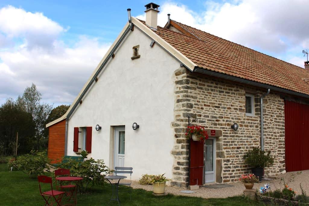 GITE DE CHARME AU COEUR DE LA BOURGOGNE - Longecourt-lès-Culêtre - Rumah