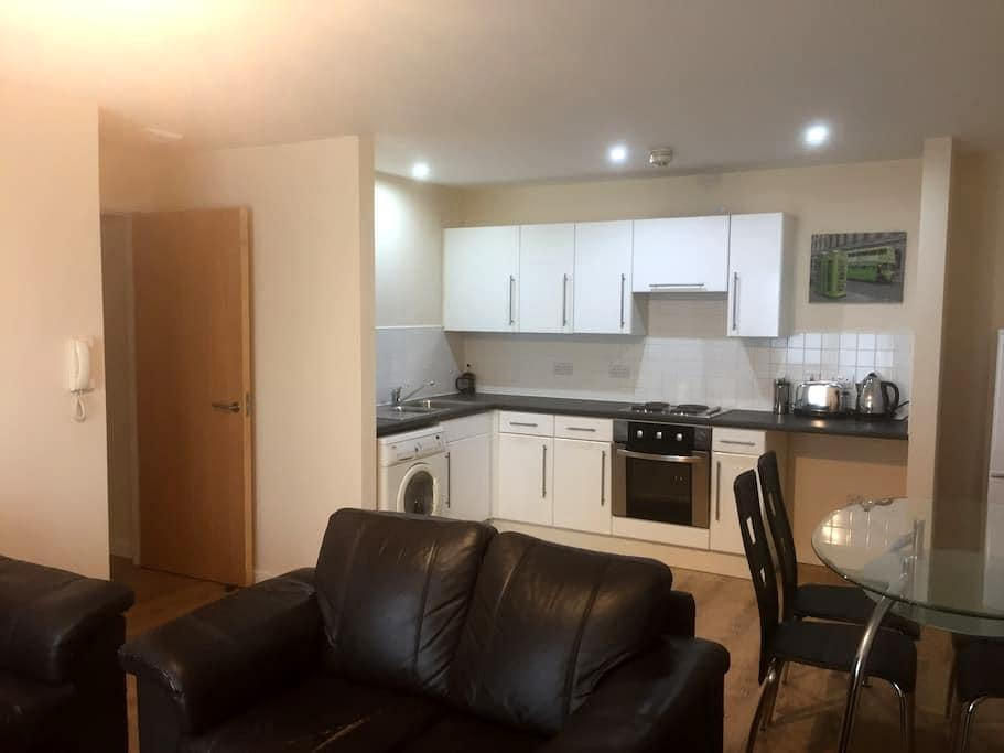 Stunning apt close to Old Trafford and city centre - Salford - Pis