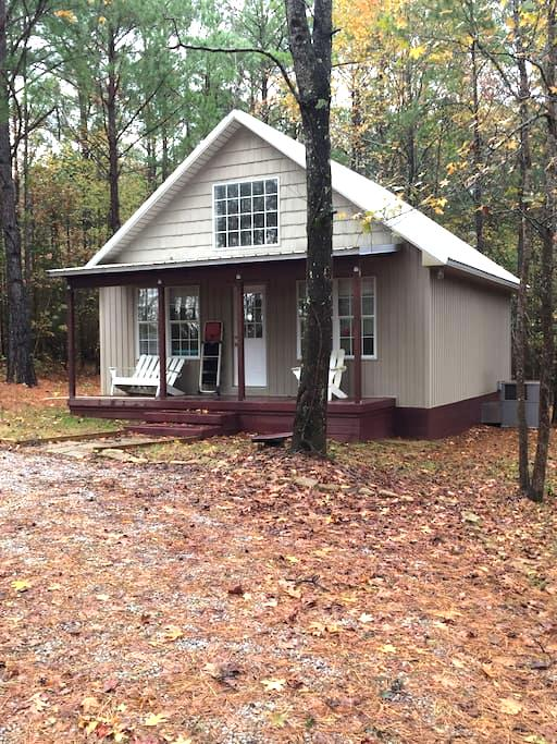 Secluded cabin minutes from Tupelo - Plantersville