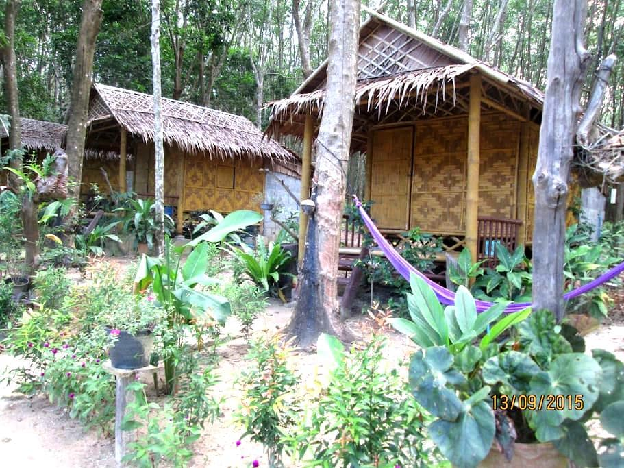 Bamboo  bungalows - Tambon koh lanta yai - Cabana