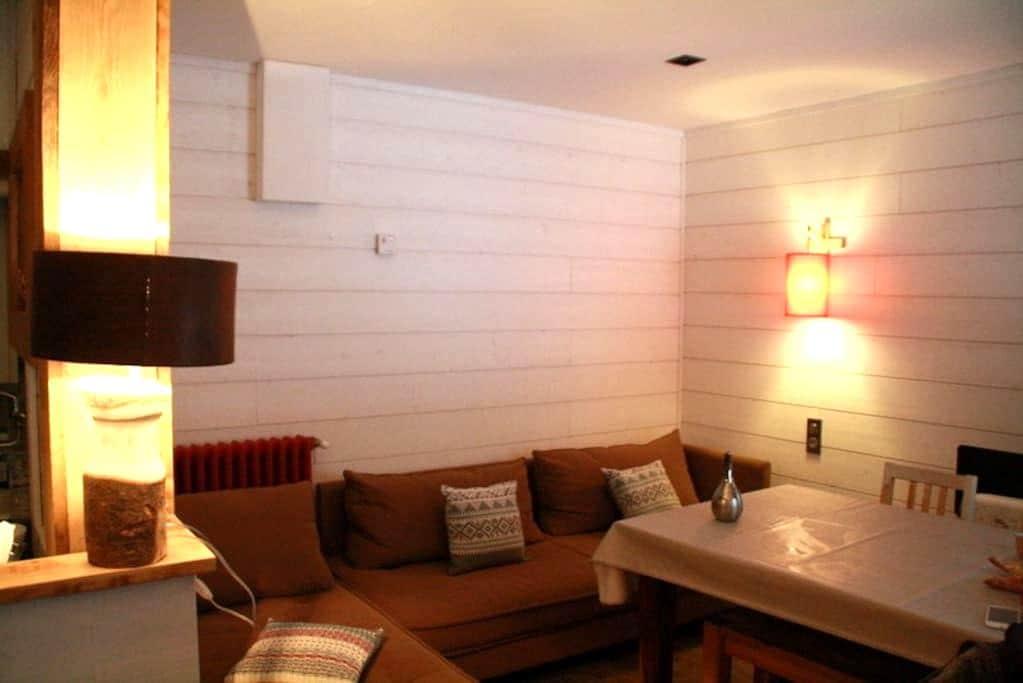 Appartement T2 dans chalet typique - Bolquère - Apartament