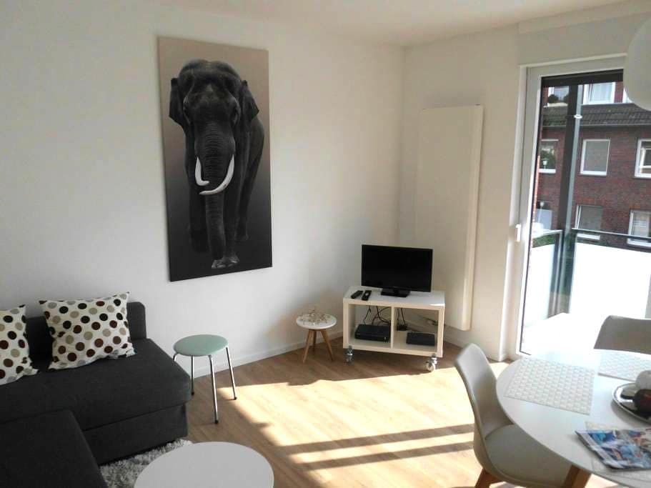 Gepflegte Wohnung in guter Lage - Münster - Leilighet