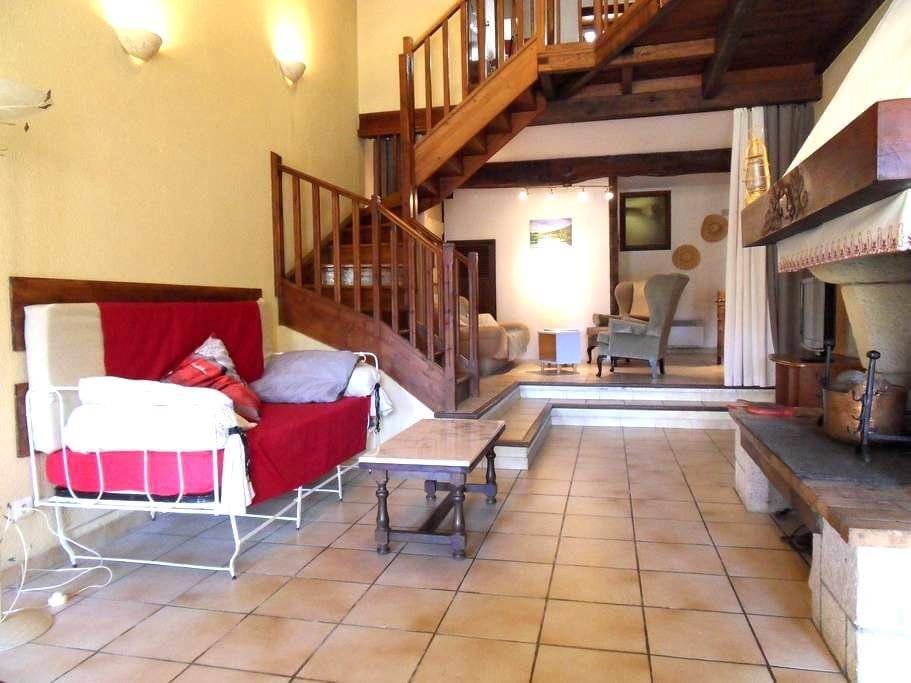 Gîte l'Eterlou Ariégeois - Castillon-en-Couserans - Appartement