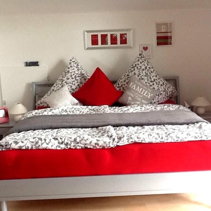 Ruhige Ferienwohnung in idyllischen Weinbergen - Konz - Apartamento