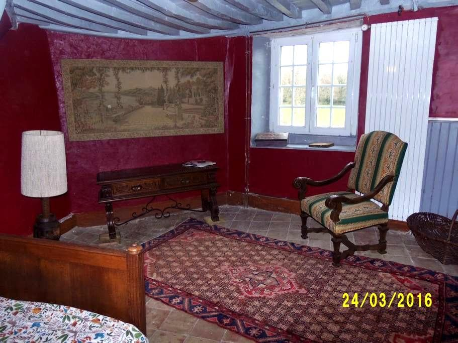 the red room - Le Vast - Bed & Breakfast