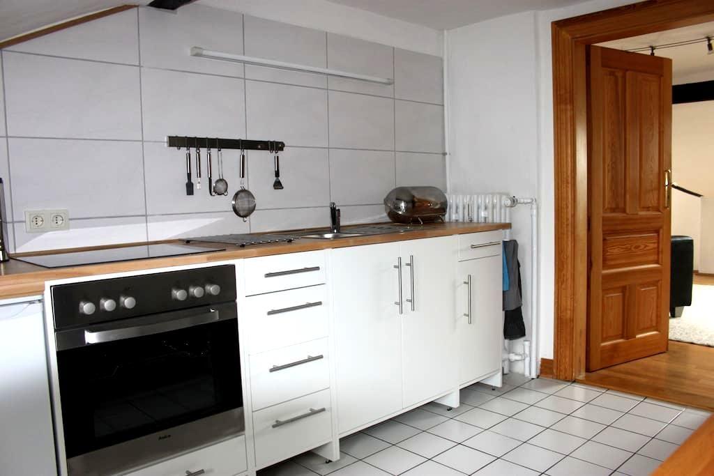 Wunderschöne Wohnung in direkt. Nähe zur Altstadt. - Hann. Münden - Villa