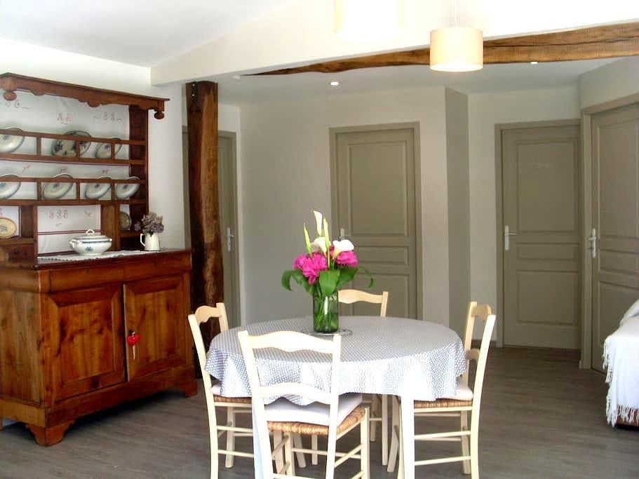 La maison de La Cloche - Nanteuil-en-Vallée - Talo