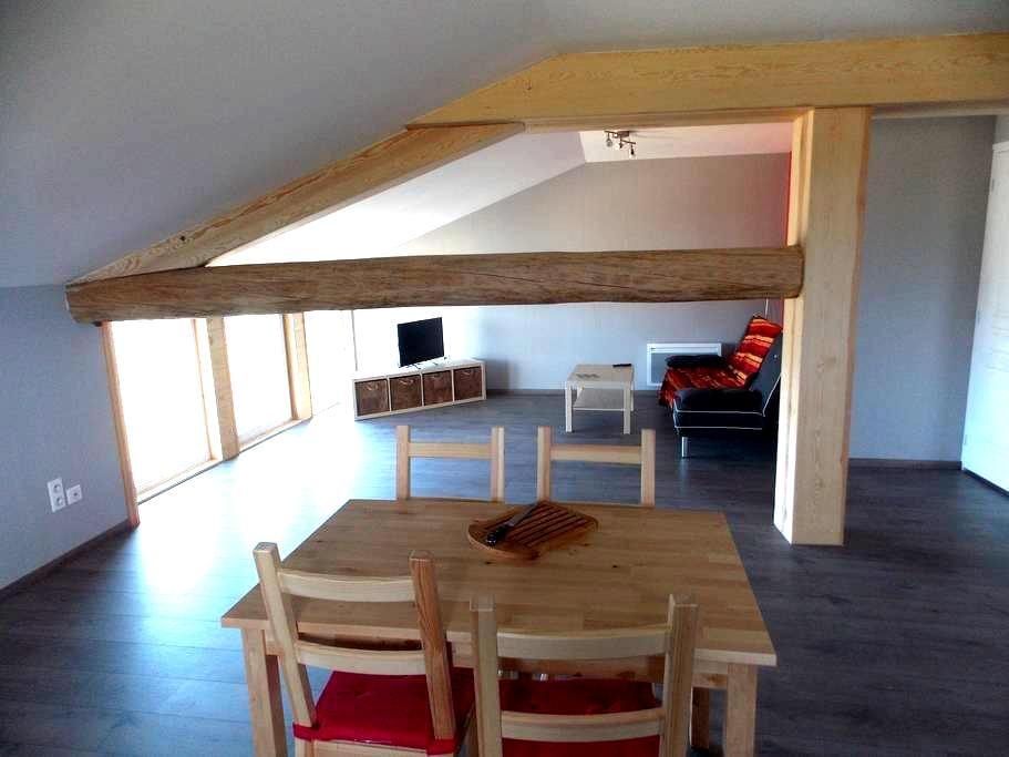APPARTEMENT A LA CAMPAGNE - Sauvessanges - Apartamento