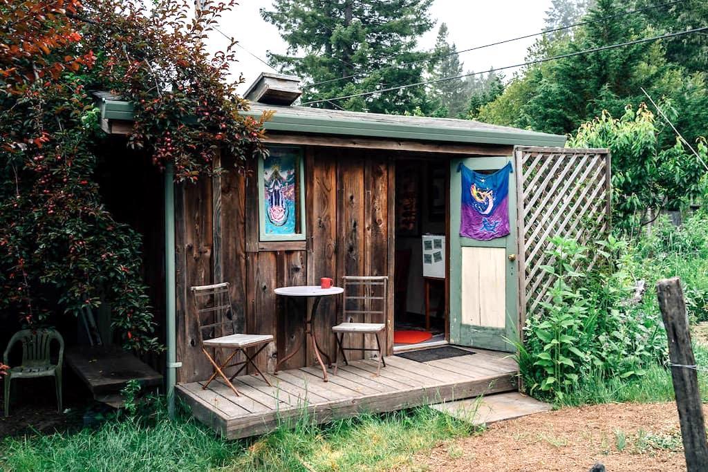 Om Garden Shanti - Little River - Blockhütte