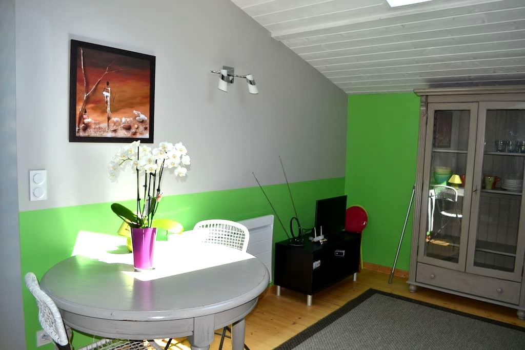 Nice accommodation, spacious, quiet and bright - Bourg-lès-Valence - Huis