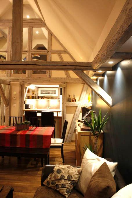 Charmante maison dans un ancien corps de ferme. - Ittenheim - House