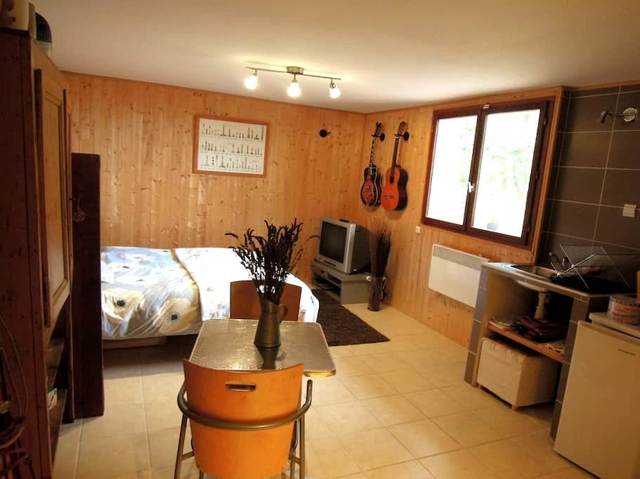 Studio indépendant sur les hauteurs du Lauragais - Pechabou - Huis