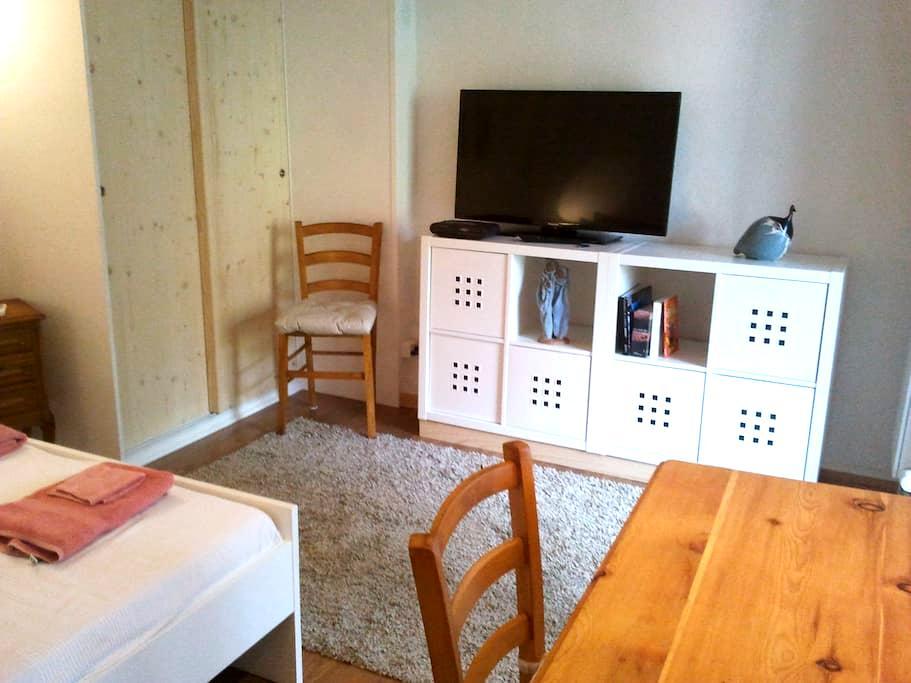 Studio indépendant meublé - Paudex - Dům