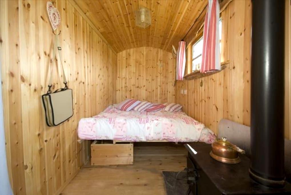 Shepherds Hut,set in rural location - Liskeard - Hutte