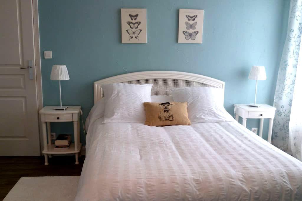 Amboise,Bed&Breakfast Bio,le Rocher des Violettes - Amboise - Bed & Breakfast