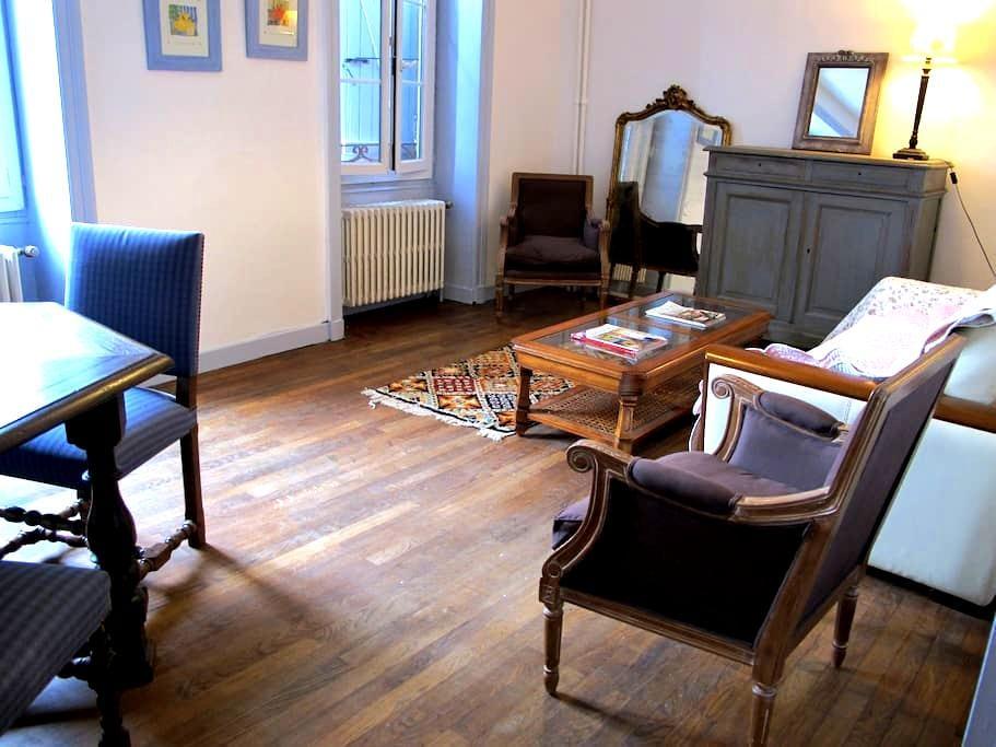La  PETIT E ESCALE - Montalieu-Vercieu - Lägenhet