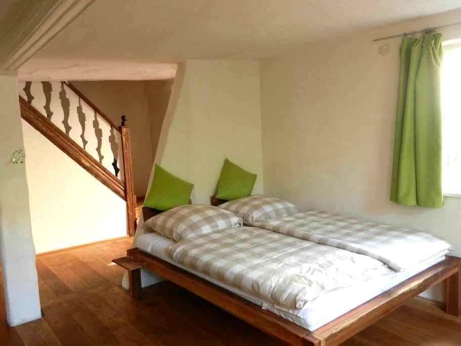 Gemütliche Wohnung in Fachwerkhaus - Thüngersheim - Daire