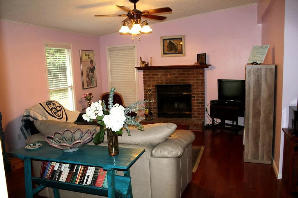 Lovely home in quiet neighborhood near downtown - Greenville - Casa
