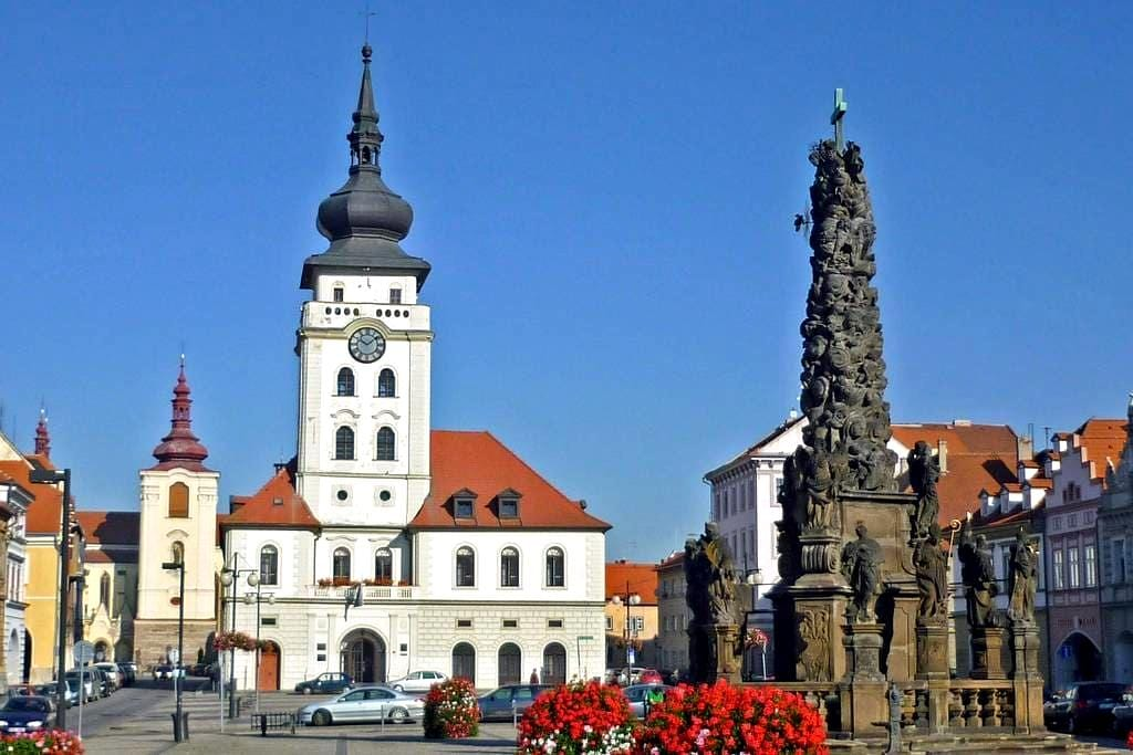 The whole appart in the historical center of Zatec - Žatec - Apartament