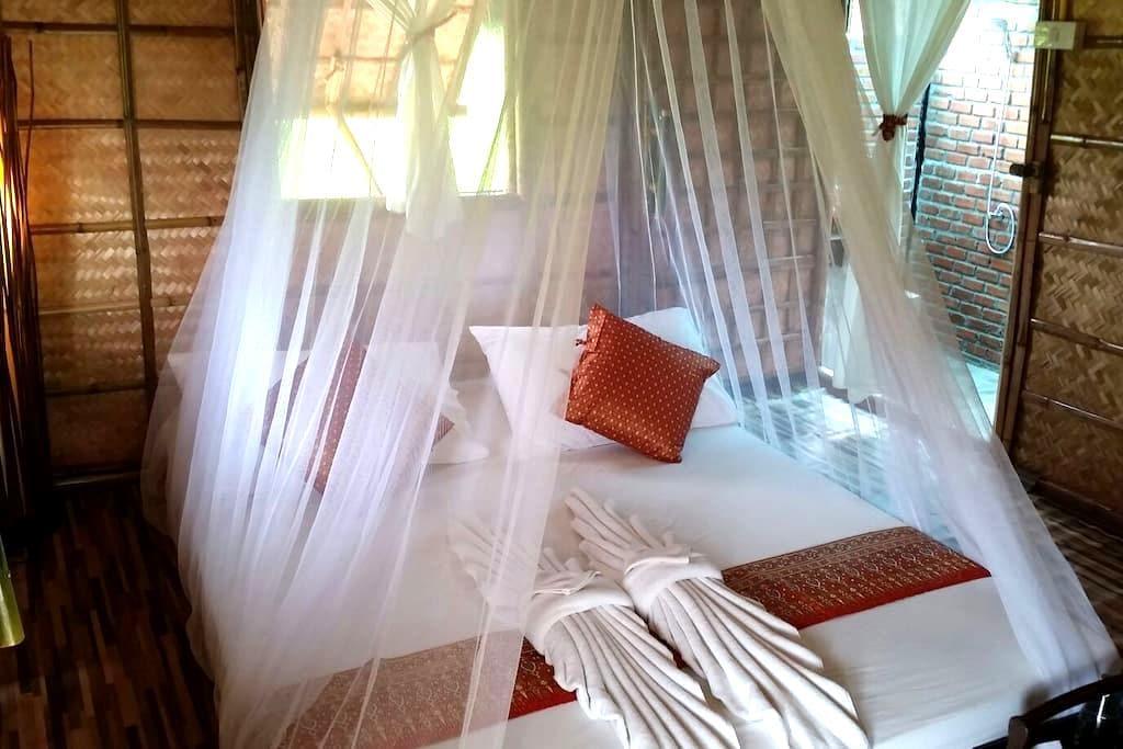 Bamboo hut@Naracha Resort -  meaung kao Sukhothai ,thailand - House