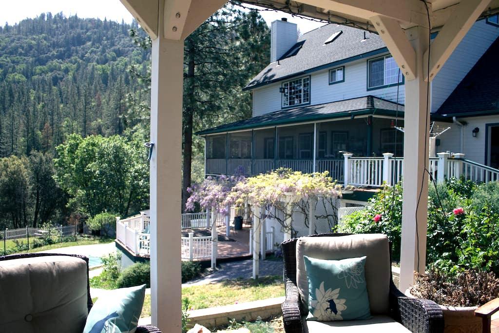 Farmhouse near Yosemite / East Room - Coarsegold - Huis