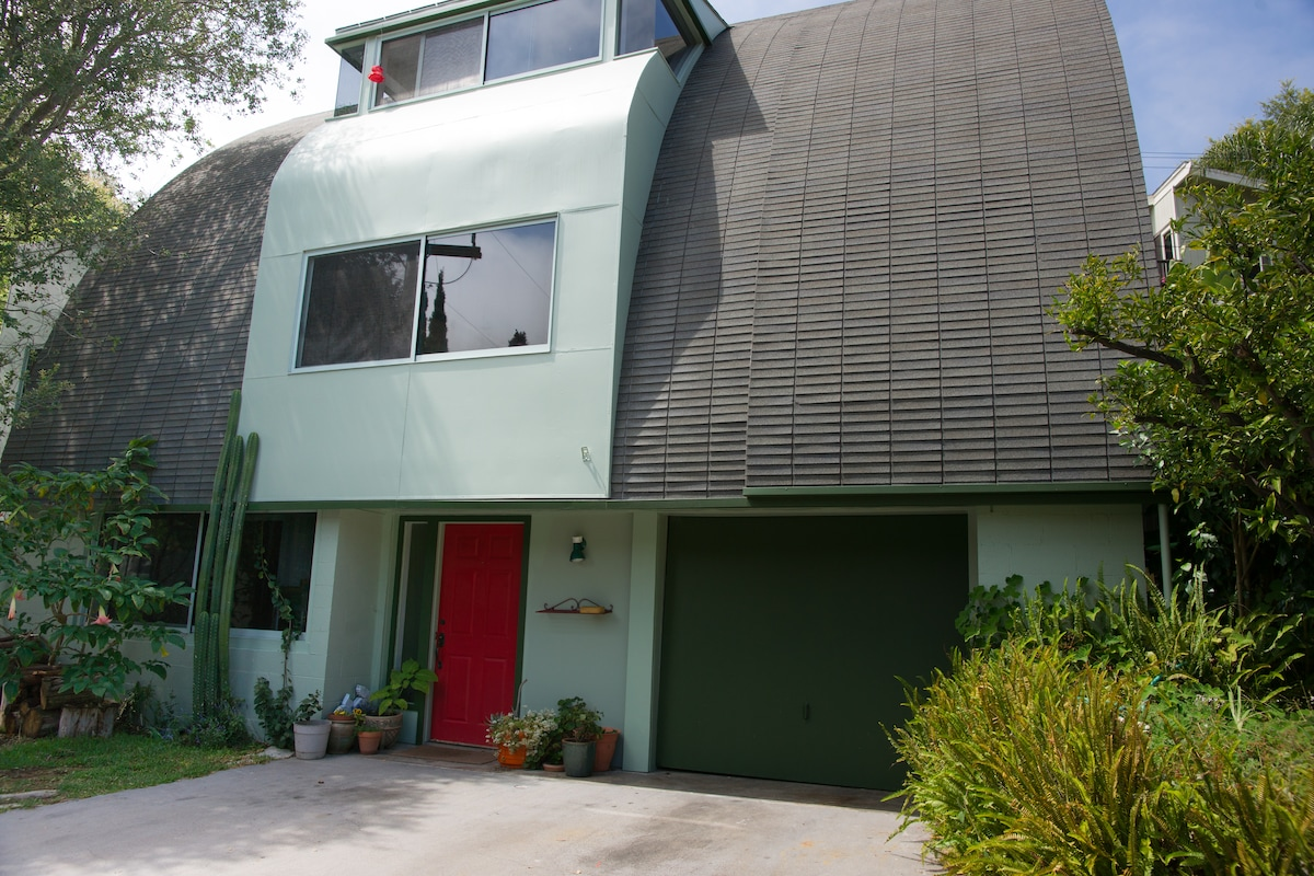 My home designed by my late husband and Laguna Beach architect.