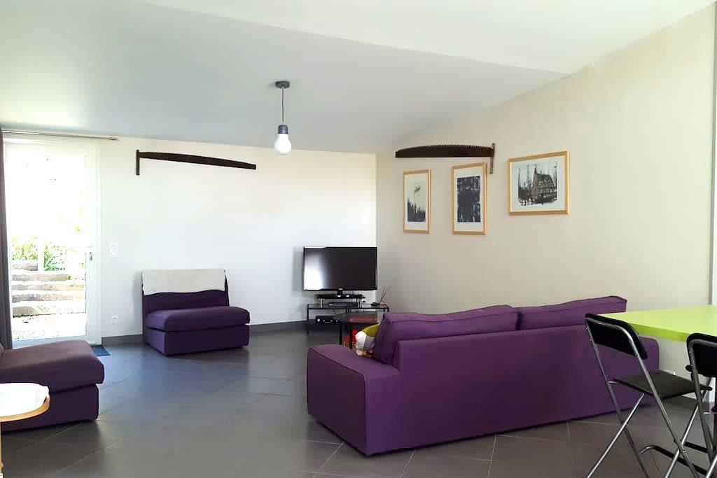 Vallée de la Vaucouleurs, gite 90 m2 - Vert - Haus