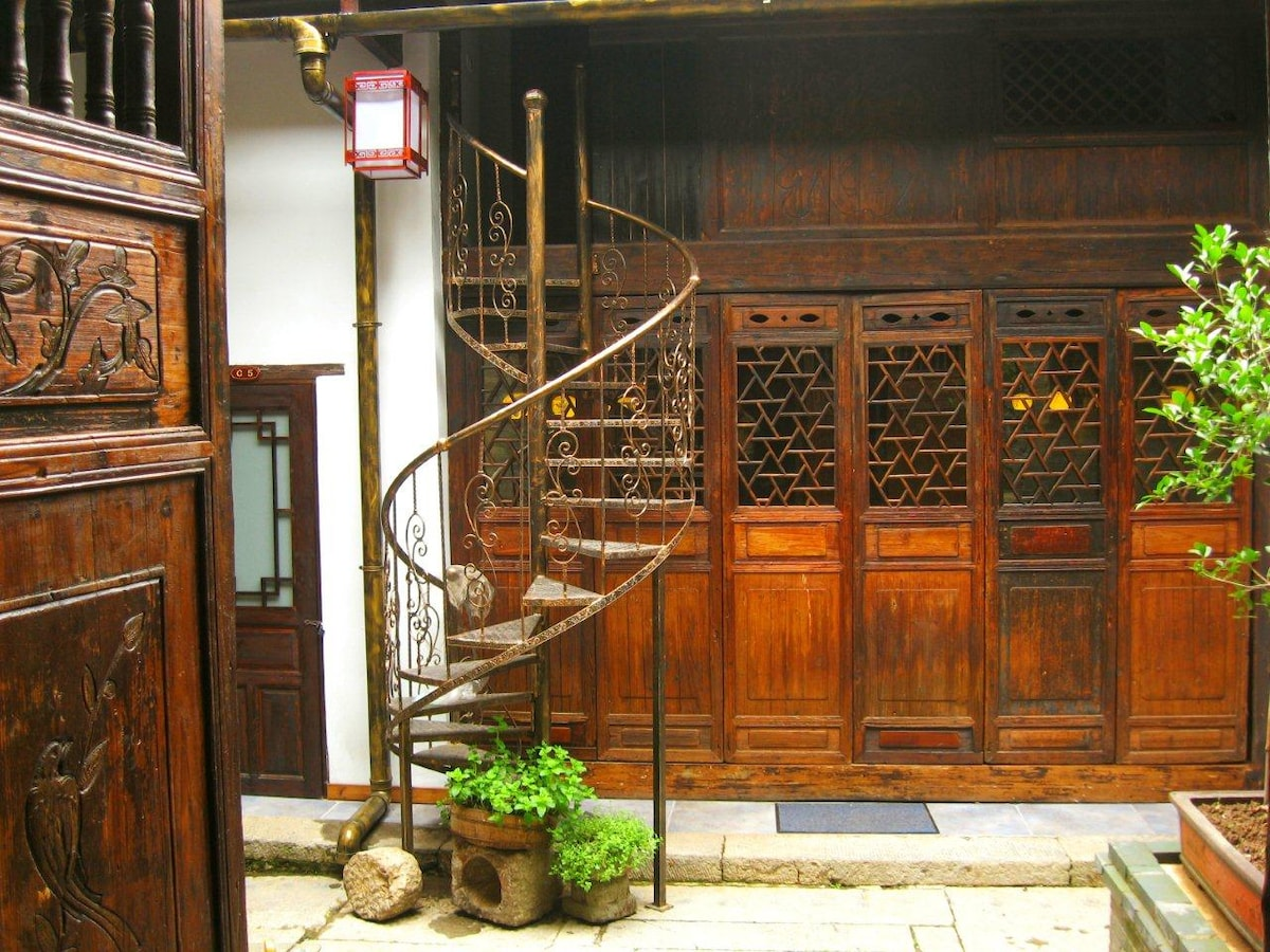 Old Manor House Yangshuo Family Rm2
