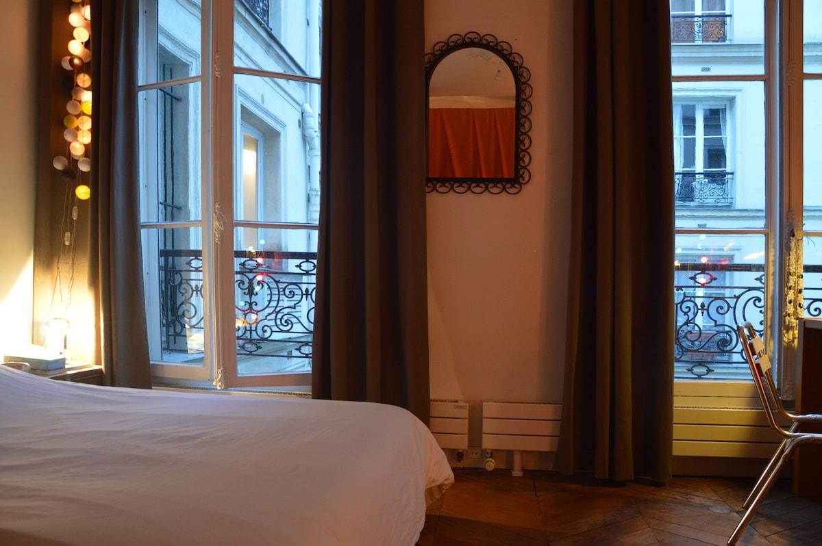 Chambre dans 130m² à Paris 10ème