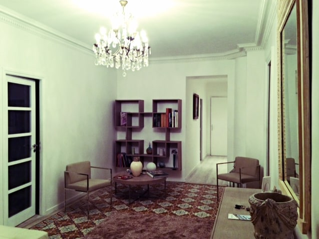 entrance of the apartment