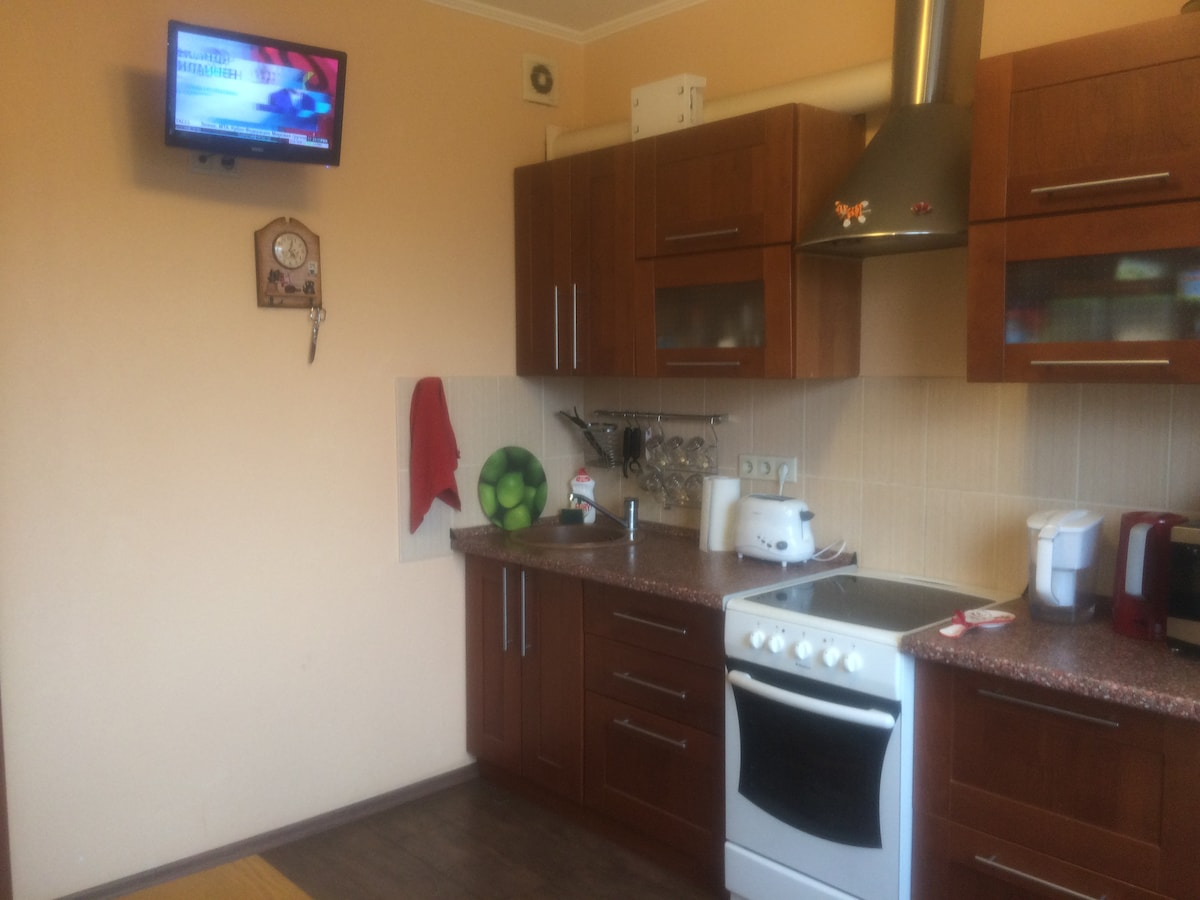 Nice appartment in Moscow Center