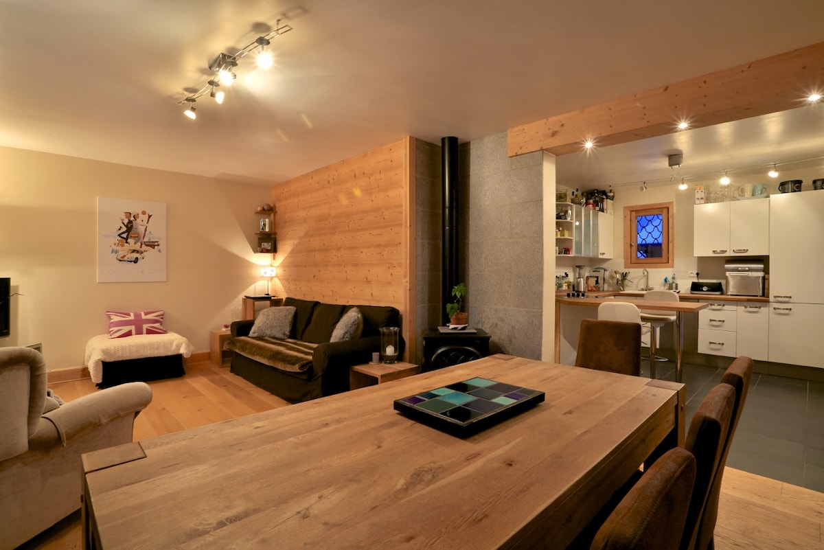 3 bedroom apt near Chamonix centre