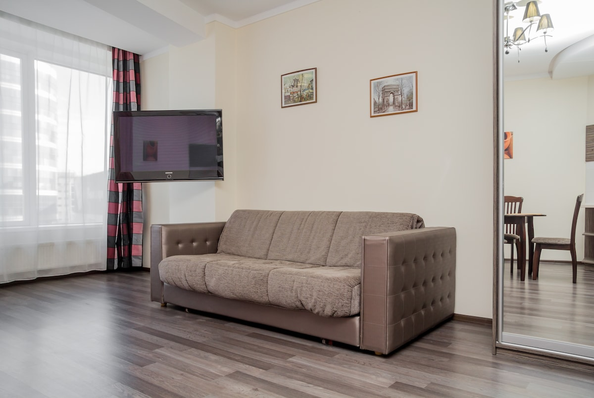 Goog apartment in Most City, Studio