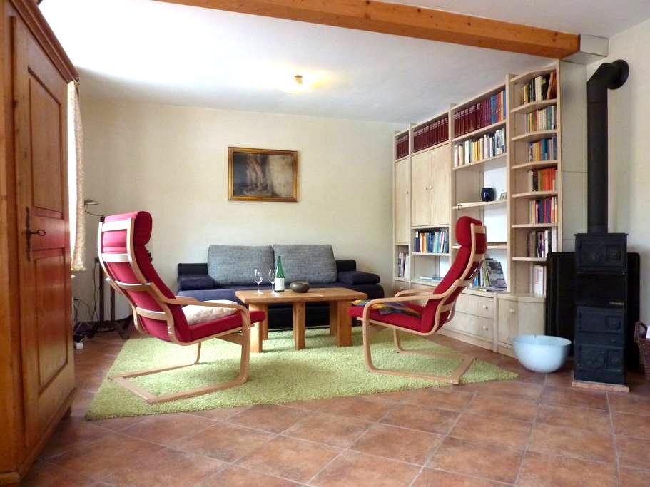 Ferienwohnung Haus am Singberg  - Ramsthal - Huoneisto