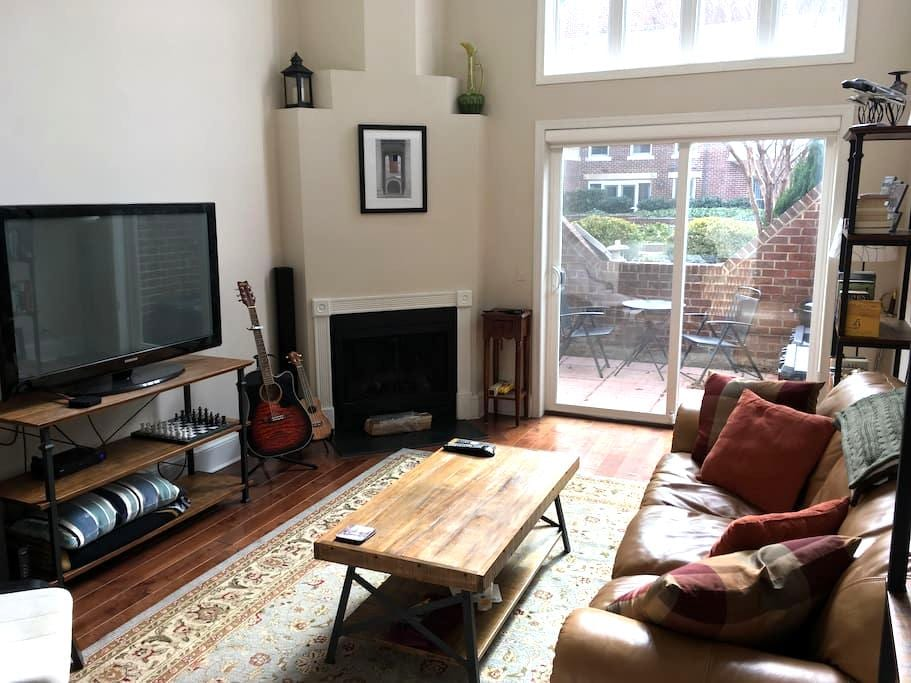 Beautiful, clean 1 BR APT near DC in Old Town - Alexandria - Appartement