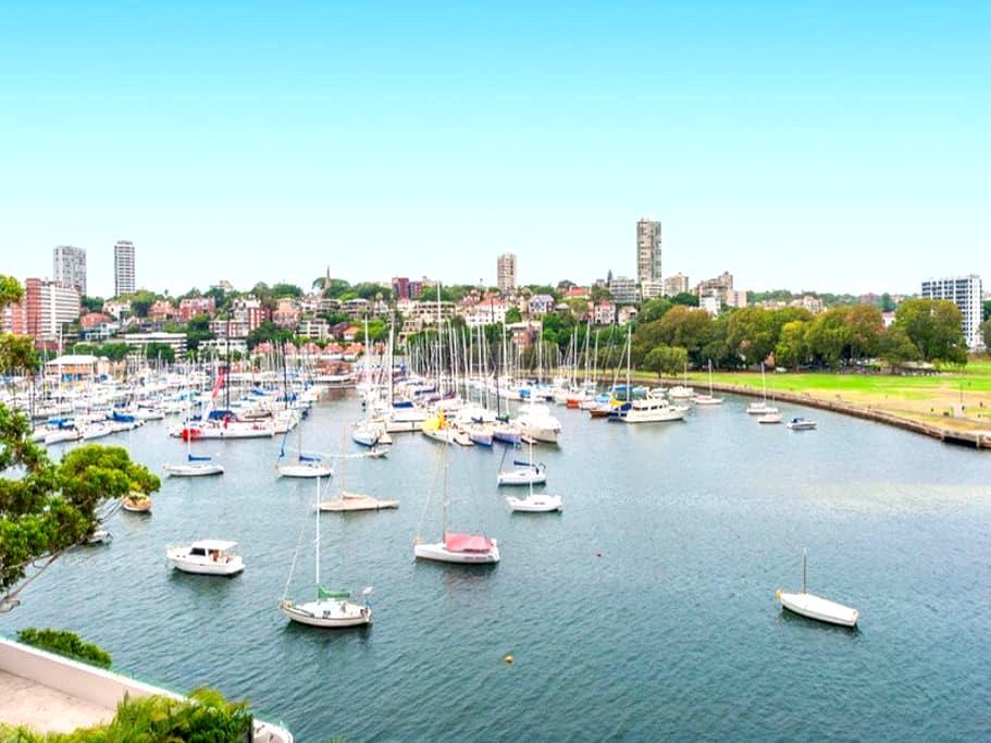 Waterfront 1 bedroom with stunning views - HOME - Elizabeth Bay - Huoneisto