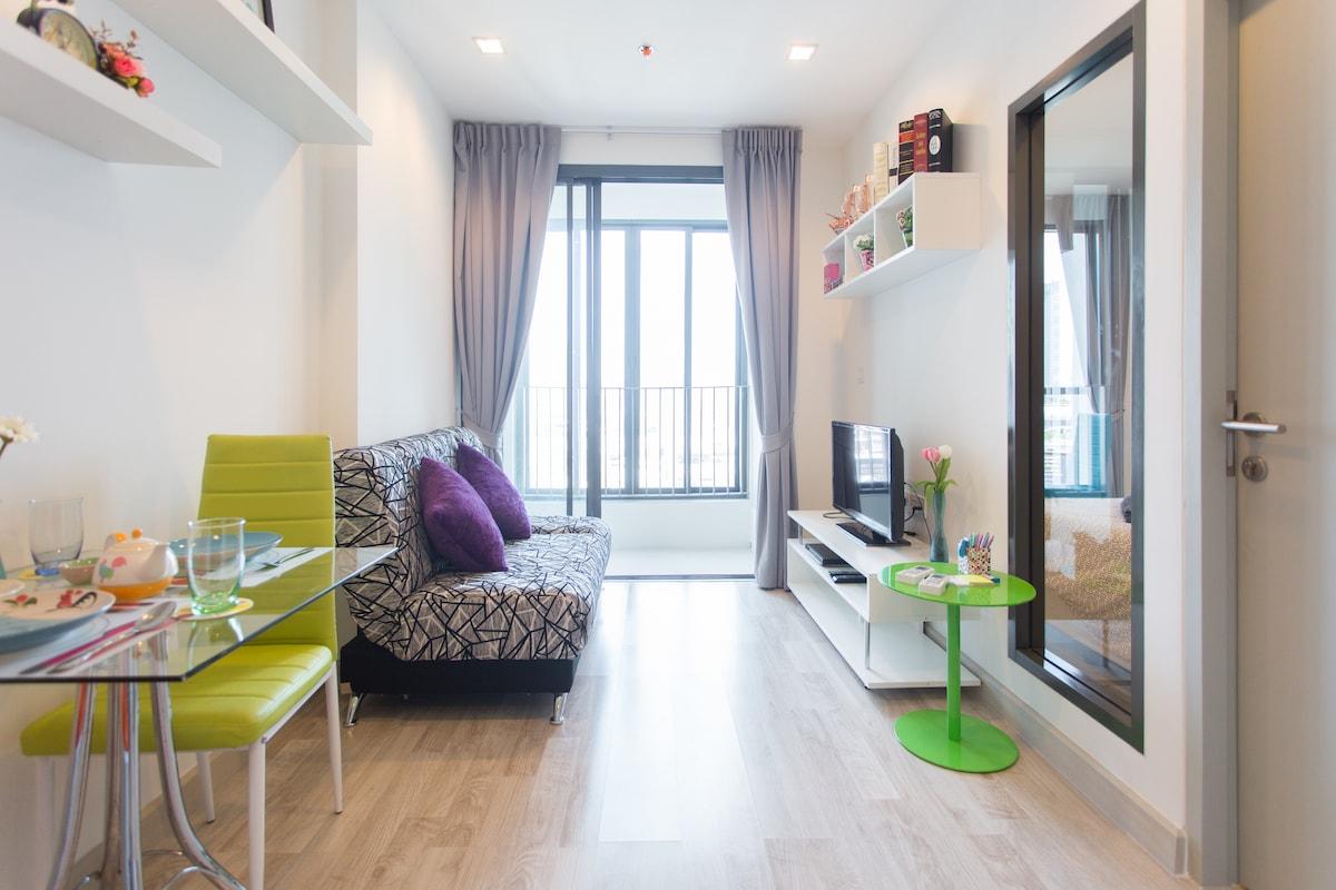 1 Bedroom City / Clean / MRT Rama 9