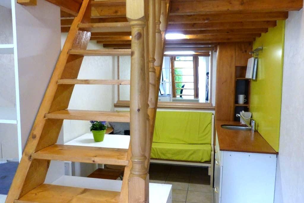 Studio Lyon Caluire quiet (parking) - Caluire-et-Cuire - Casa