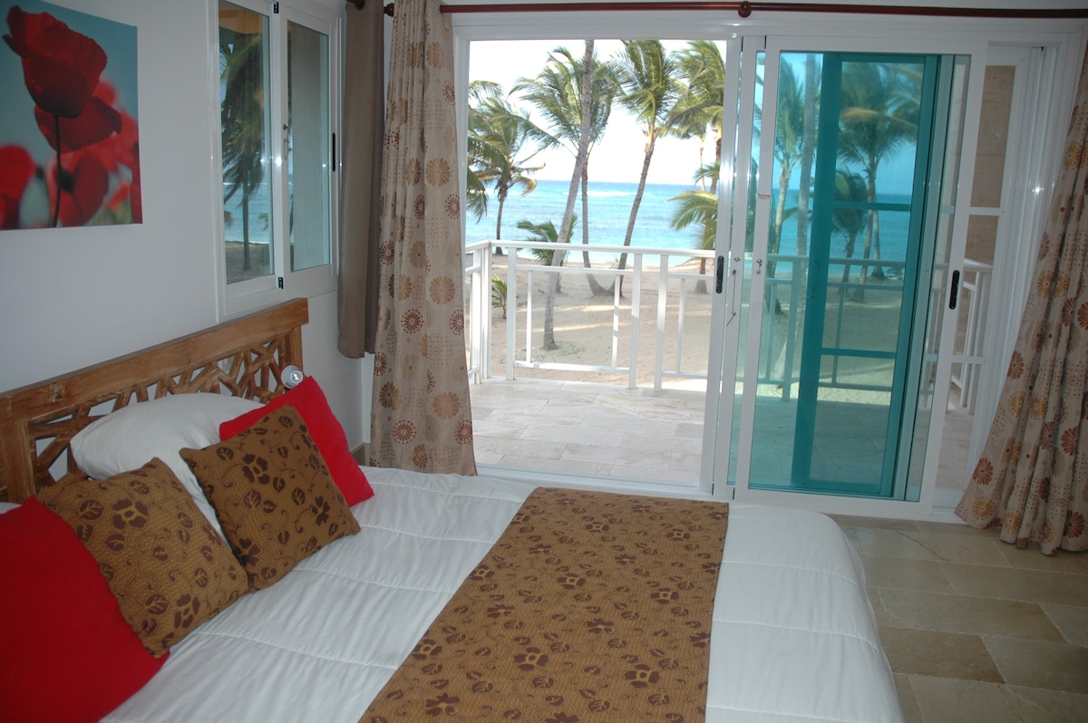 Wake up to this every morning! View from Master Suite king size bed.