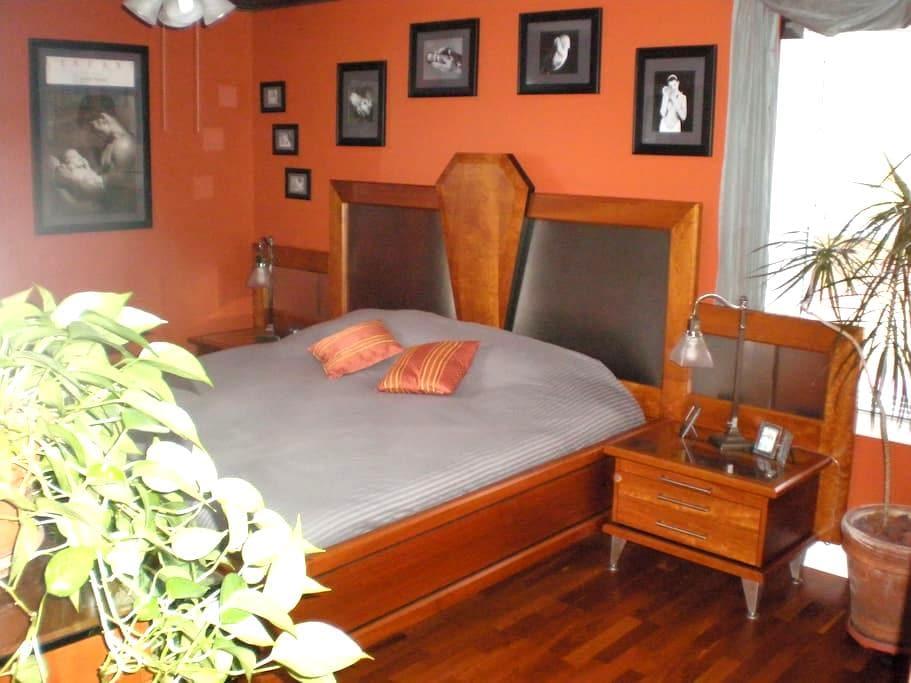 European style,modern&comfortable!  - Greensboro - Ház