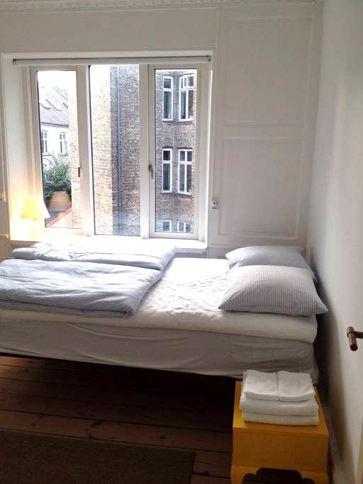 Small yet spacious and cozy studio in Vesterbro - København - Apartment