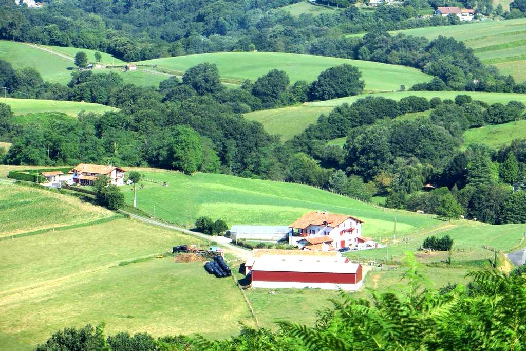 Gite avec balcon dans une ferme - Ainhoa
