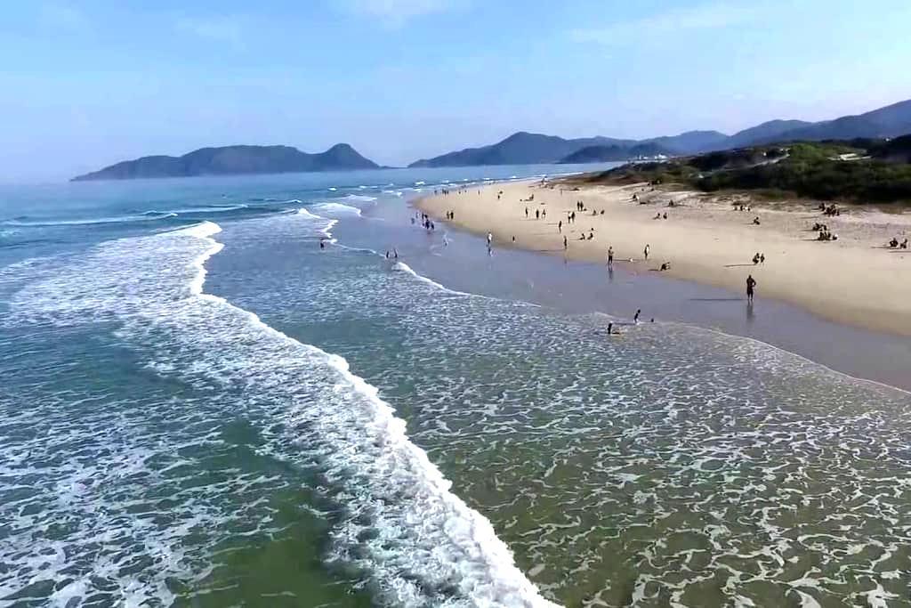 Quarto até 2pessoas à 100m da praia - Florianópolis