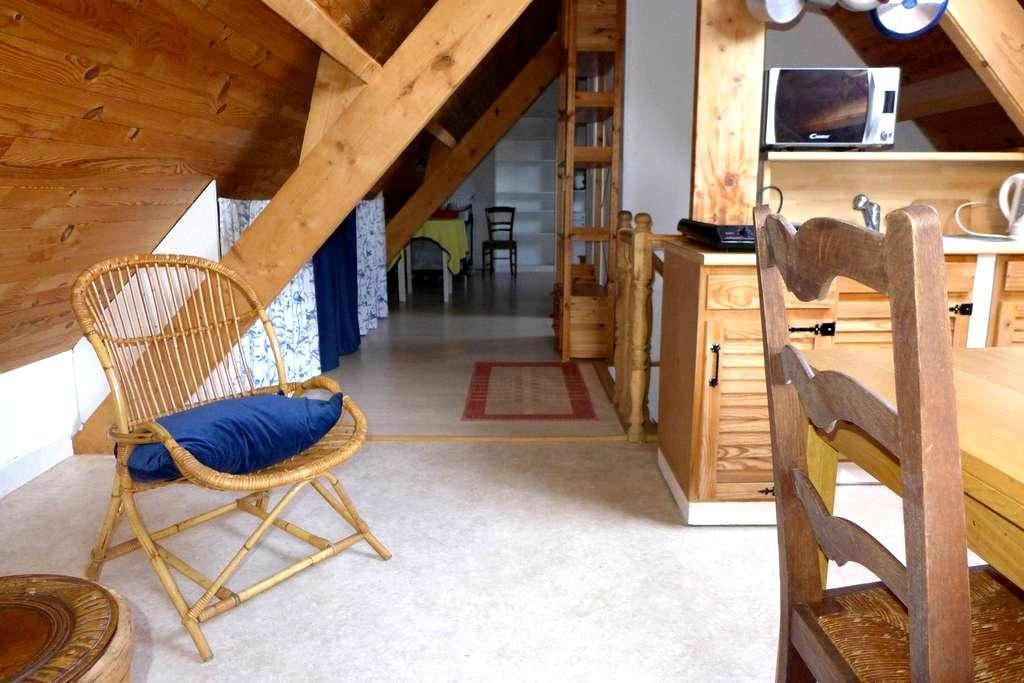 Loft silencieux, très lumineux - Meulan-en-Yvelines - Apartemen