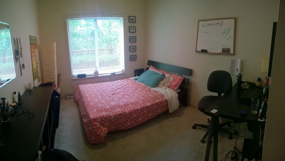 Master Bedroom in 3BD Apartment