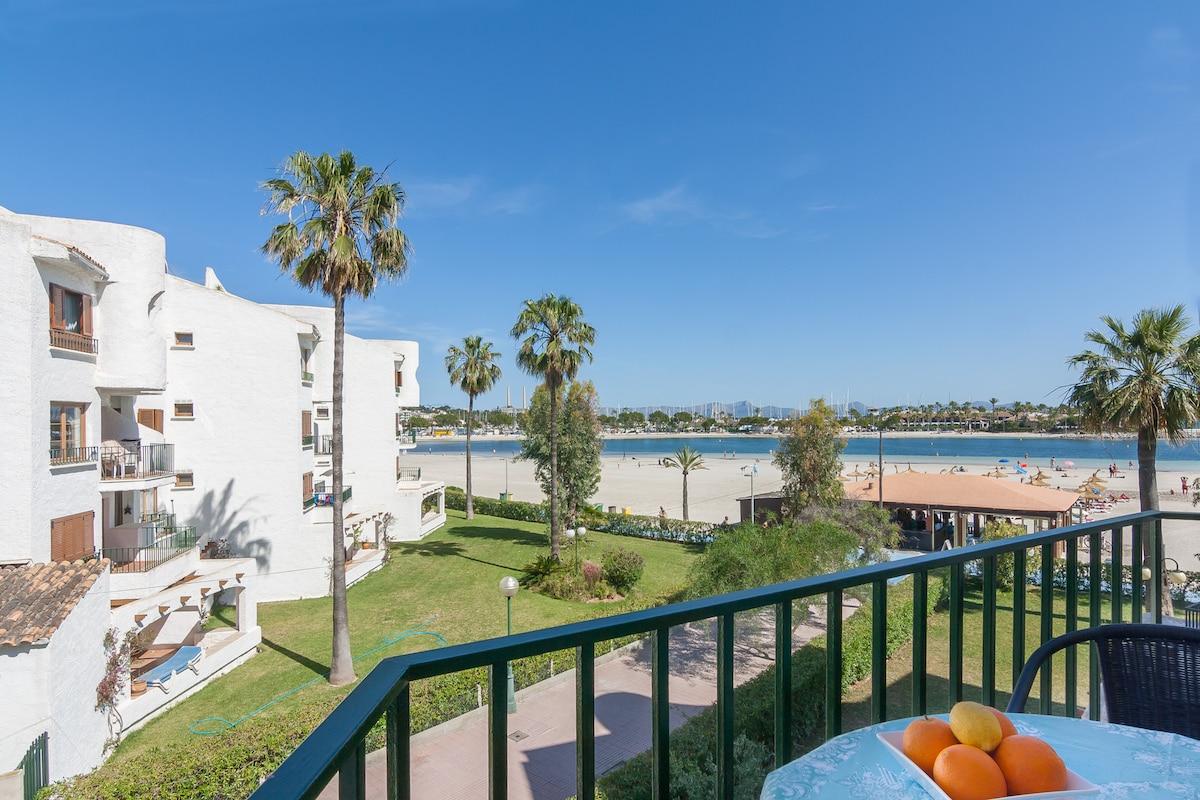 Apartamento con vistas a la playa